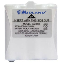 BATT6R - Midland Replacement Battery For The LXT320 420VP 560VP3 Radios