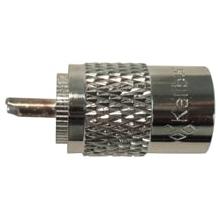 KPL259 - Kalibur Bakelite PL259, Silver Pin, Bagged
