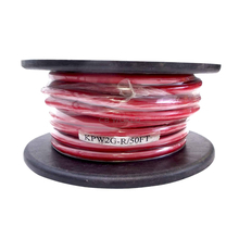 KPW2G-R - Kalibur 50 Foot Roll Of 2 Gauge Red Power Wire