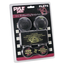 "PLST6 - Pyramid Pyle 1/2"" 150 Watt Mylar Dome Tri Mount Tweeter Speaker Kit"