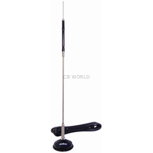 "RTM - Hustler 25"" Center Load Magnetic Mount Antenna With Spring"