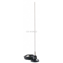 "RUM150 - Hustler 49"" 100 Watt 3Db Magnetic Mount Antenna Kit"