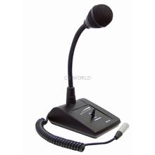 MHL5S - Speco Goose Neck Desktop Paging Microphone