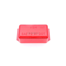04910715R - Mini Red Rectangular Lens - Bulk