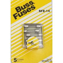 058BPSFE14 - Upc12124 14 Amp Fuse, 5 Pack