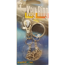 09444471 - Chrome Key Snap With Chain