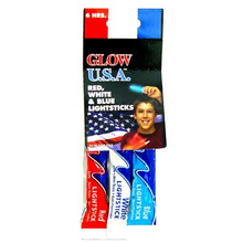 13299090 - Glowsticks 3 Pack Red/White/Blue