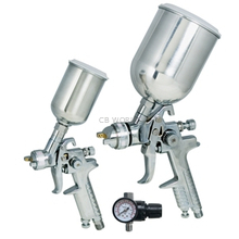 19219 - Titan Tools 3 Pc HVLP Gravity Feed Spray Gun Kit