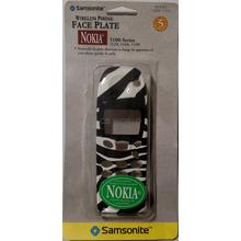 3017737 - Zebra Faceplate Nokia 5100