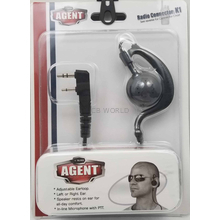 BLACKBOXAGENTK1 - Sturdy Swivel Ear loop For Kenwood Radio
