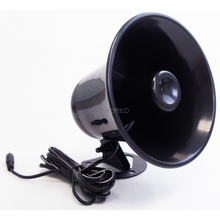 KPA5-XX -Black Plastic PA Horn