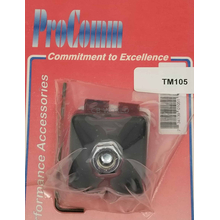TM105 - ProComm Trunk Lip Antenna Mount For 3/8 X 24