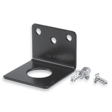 "TMB34B - Larsen 3/4"" L Bracket For Nmo Style Antennas (Black)"