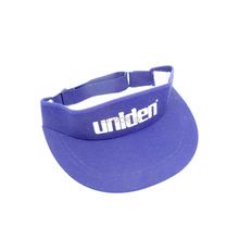 VISOR - Uniden Royal Blue Sun Visor With White Signature Logo