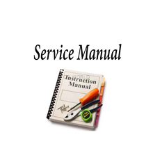 SMFR465 - Sima Service Manual For Fr465