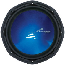 "TSPR12-BL - Audiopipe 12"" 750 Watt Subwoofer Speaker Blue Cone"