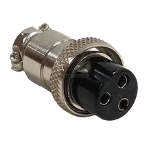 CBC3X - Marmat 3 Pin Microphone Connector (Bulk)