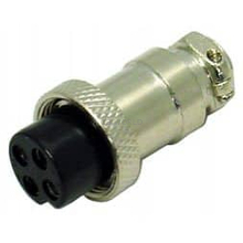 CBC4M - Marmat 4 Pin Microphone Plug Packaged
