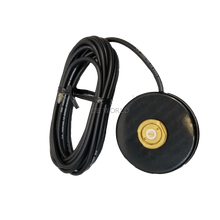 "CMAG/NC - ProComm 3 1/4"" Black NMO Magnet W/ 12' Coax No Connector"