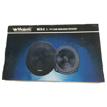 "MCS5A - Majestic 5"" 100 Watt Midrange Speaker With 10 Oz. Magnet"