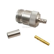 "MNF58CP - Crimp On Female ""N"" Connector For Rg58 Coax"