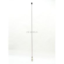 MW150BN - 150 MHz Steel Antenna Whip Duckie With Bnc Connector