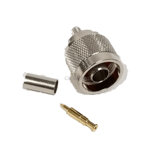 N-11 - ProComm N Male Crimp For Rg58 Coax Cable