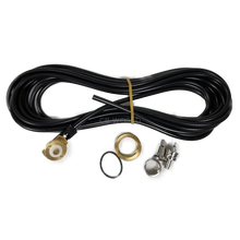 NMO58AUCP - Maxrad 17' Rg58A/U Coax with Silver Plated Pl259 Crimp On