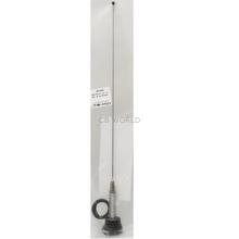 NMOWBQC - Larsen Stainless Spring Base .100 Diameter Whip Antenna 150-170Mhz