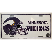 02500514 - Minnesota Vikings License Plate