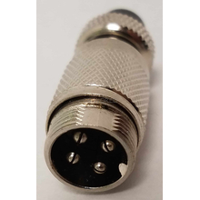 C4P5C - Twinpoint Adapter Converts 4 Pin Microphone to Work with 5 Pin Radio