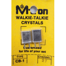 CH27 - Channel 27 Receive & Transmit Crystal Pair For Walkie Talkies
