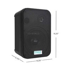 PYLE - PDWR40-W 5-1/4 400 Watt Indoor Or Outdoor Waterproof Boxed Speaker Pair - In White