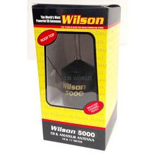 "W5000RT-B - Wilson 5000 Watt Roof Top Mount W/ 62-1/2"" Whip Antenna (Black)"