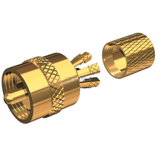 PL259CP  - Shakespeare Center Pin Gold-Plated Coax Connector