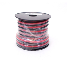 10RB3 - WORKMAN 30 FOOT SPOOL OF 10 GAUGE RED/BLACK DC ZIP WIRE