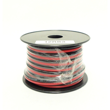 12RB3 - WORKMAN 30 FOOT SPOOL OF 12 GAUGE RED/BLACK DC PRIMARY POWER WIRE