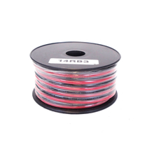 14RB3 - WORKMAN 30 FOOT SPOOL OF 14 GAUGE RED/BLACK DC ZIP WIRE