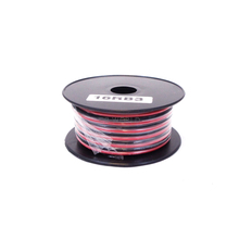 16RB3 - WORKMAN 30 FOOT SPOOL OF 16 GAUGE RED/BLACK DC ZIP WIRE