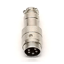 CBC5E - WORKMAN 5 PIN IN LINE MICROPHONE JACK CONNECTOR