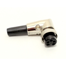 CBC5RX - TWINPOINT 5 PIN RIGHT ANGLE MICROPHONE PLUG (BULK)