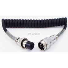 EX5 - TWINPOINT 5 PIN SCREW ON MICROPHONE EXTENSION FOR COBRA/UNIDEN MICROPHONES
