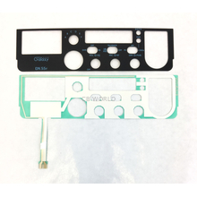 FPDX55F - Galaxy Replacement Face Plate For The DX55F 10 Meter Radio