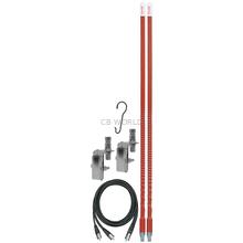FS3DMK-R - Firestik Dual FS II CB Antenna Kit (Red)