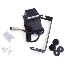 "M45BOX - KALIBUR 4 PIN MICROPHONE, 6"" BLACK SLOTTED MOUNTING BRACKET & 6MM SIDE KNOBS, MIC CLIP & HARDWARE FOR MCB45W-FR"
