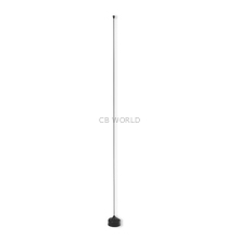 NMOQSPEC-B - Larson 136-512 MHz 0dB Field Tunable 1/4 Wave Black Mobile Antenna