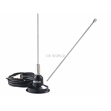 "RUM150M - Hustler 49"" 144-174 MHZ 100 Watt Magnetic Mount Antenna Kit"