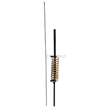 WA10BG - ProComm Single Coil 10K Watt Antenna 26-29Mhz Black/Gold