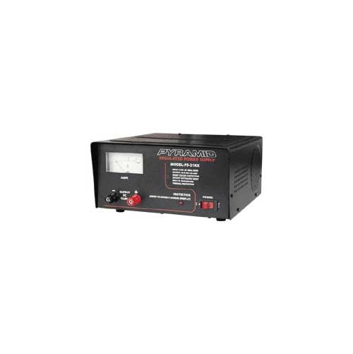 PS21 - Pyramid 17 Amp Constant / 20 Amp Surge Power Supply with Fan