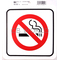 "0454202 - Duro 6"" X 6"" Stick-On No Smoking Decal - 12 Per Pack"